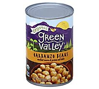 Green Valley Organics Beans Garbanzo Can - 15.5 Oz