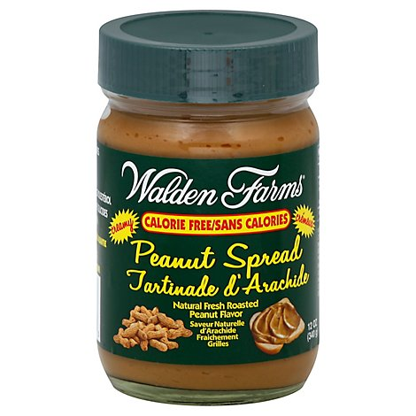Walden Farms Peanut Spread Creamy - 12 Oz