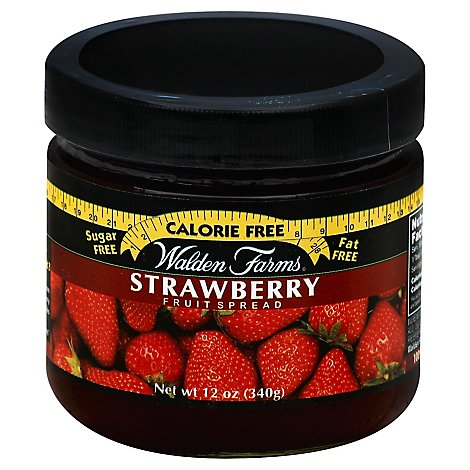 Walden Farms Fruit Spread Sugar Free Strawberry - 12 Oz