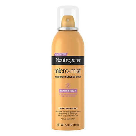 Neutrogena Micromist Sunless Medium Spray - 5.3 Oz