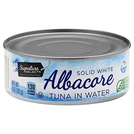Signature Kitchens Tuna Albacore Solid White in Water - 5 Oz
