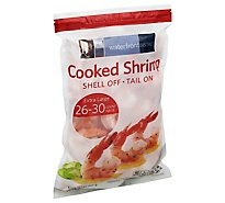Shrimp Cooked 26 To 30 Tail On Frozen - 2 Lb