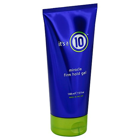 Its A 10 Miracle Firm Hold Gel - 5 Fl. Oz.