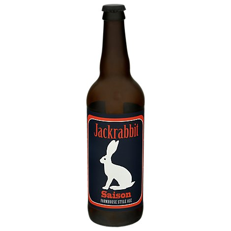 Jackrabbit Saison In Bottles - 22 Fl. Oz.