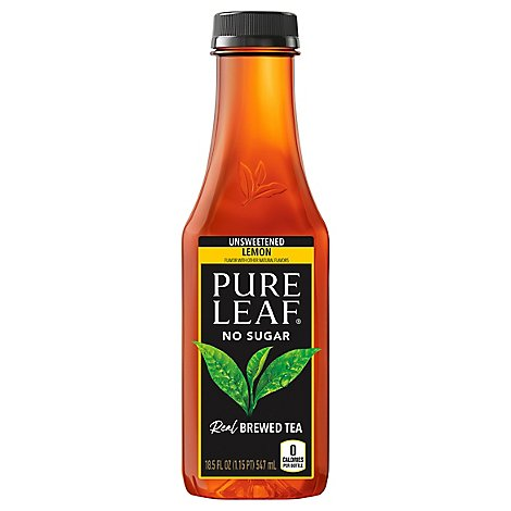 Pure Leaf Iced Tea Unsweetened Lemon - 18.5 Fl. Oz.