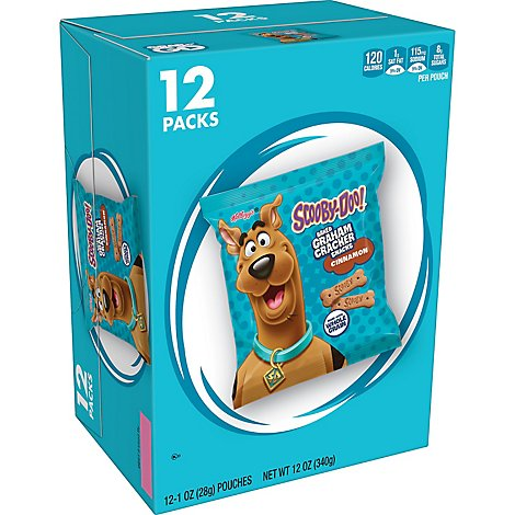 Scooby-Doo! Graham Cracker Sticks Cinnamon 12 Count - 12 Oz