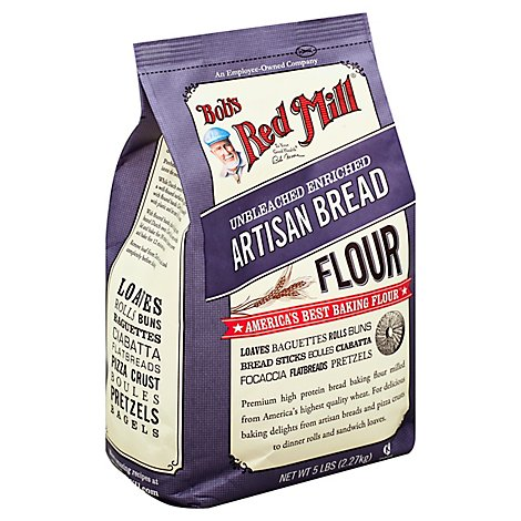 Bobs Red Mill Flour Artisan Bread - 5 Lb