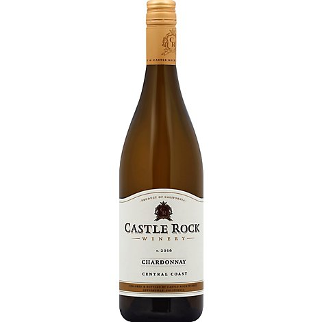 Castle Rock Central Coast Chardonnay Wine - 750 Ml