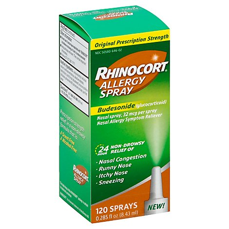 Rhinocort Allergy Spray 120 - .285 Fl. Oz.