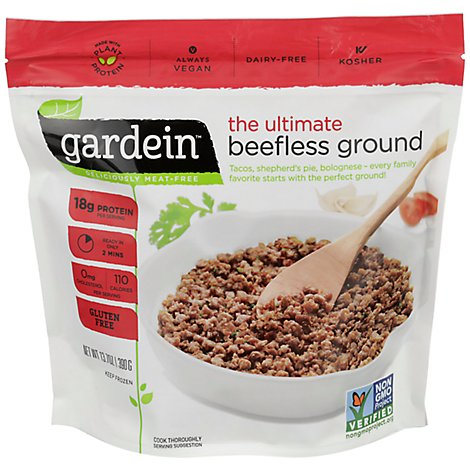 Gardein Meat-Free Meals Beefless Ground the Ultimate - 13.7 Oz