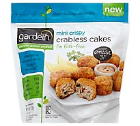 Gardein Meat-Free Meals Crabless Cakes Mini Crispy - 10 Count