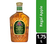 Crown Royal Whisky Flavored Regal Apple 70 Proof - 1.75 Liter