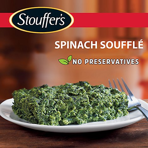 STOUFFERS Simple Dishes Meal Spinach Souffle - 12 Oz
