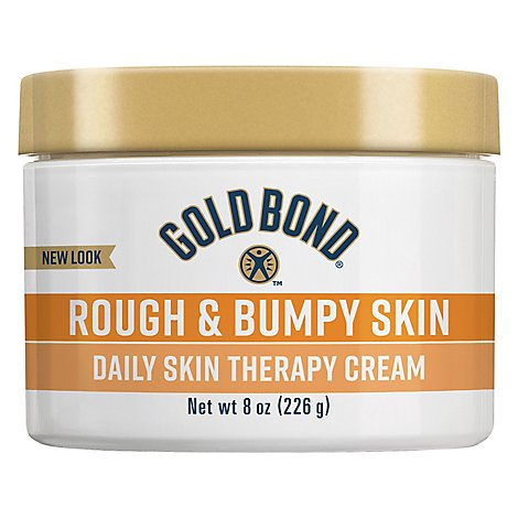 GOLD BOND Ultimate Cream Daily Therapy Rough & Bumpy Skin - 8 Oz