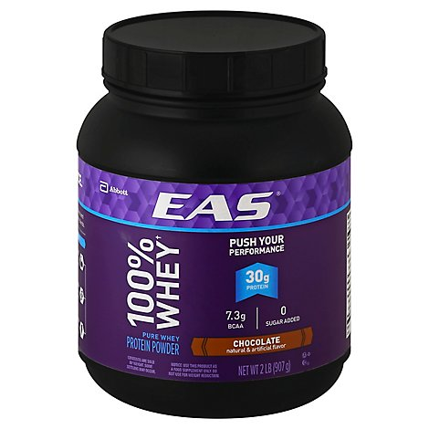 EAS Protein Powder Pure Whey Chocolate - 2 Lb