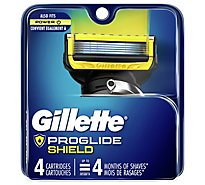 Gillette Fusion Proshield Cartridge Base - 4 Count