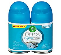 Air Wick Freshmatic Ultra Automatic Spray Refills Fresh Waters - 2-6.17 Oz