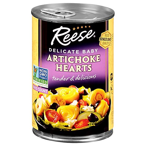 Reese Artichoke Hearts 10-12 Extra Small Size - 14 Oz
