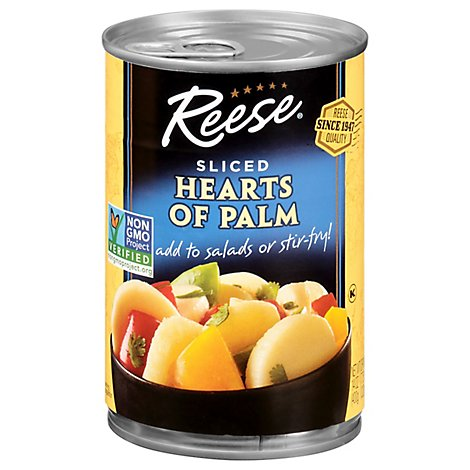 Reese Hearts Of Palm Palmitos Sliced - 14 Oz