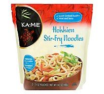 Ka.Me Noodle All Natural Stir-Fry Hokkien Pouch - 2-7.1 Oz