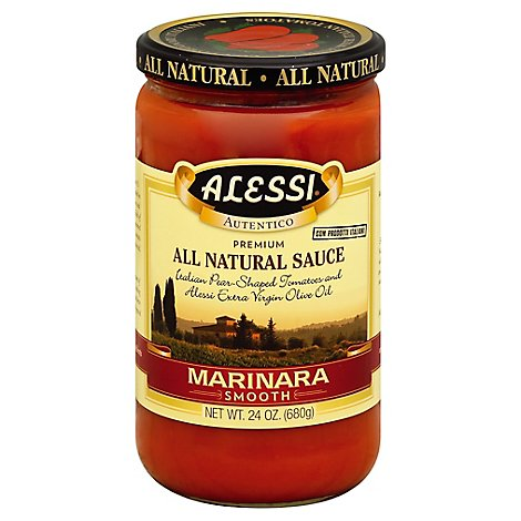 Alessi Autentico Marinara Sauce Smooth - 24 Oz