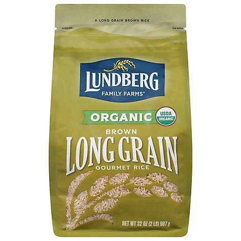 Lundberg Heirlooms Rice Brown Long Grain - 32 Oz