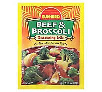 Sun-Bird Beef & Broccoli Seasoning Mix - 1 Oz
