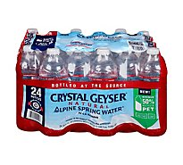 Crystal Geyser Spring Water Natural Alpine - 24-16.9 Fl. Oz.