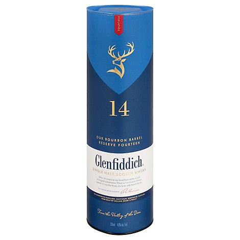 Glenfiddich 14 Year 86 Proof - 750 Ml