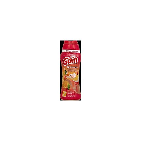 Gain Fireworks Scent Booster In Wash Tropical Sunrise Bottle - 19.5 Oz