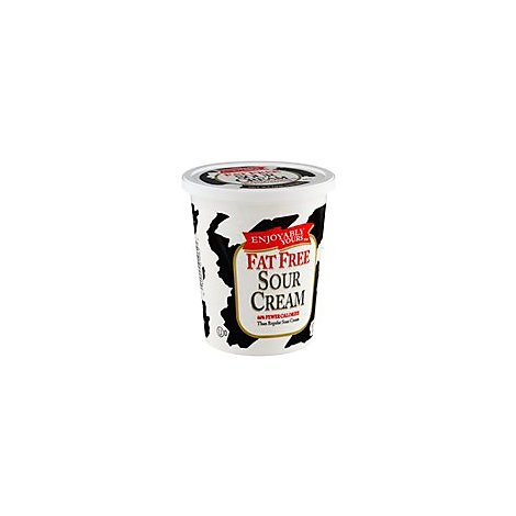 Enjoyably Yours Nf Sour Cream - 16 Oz