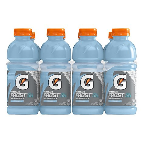 Gatorade Frost Thirst Quencher Crisp & Cool Icy Charge - 8-20 Fl. Oz.
