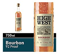 High West Whiskey American Prairie Bourbon Whiskey 92 Proof - 750 Ml