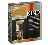 KIND Bar Nuts & Spices Caramel Almond & Sea Salt - 4-1.4 Oz