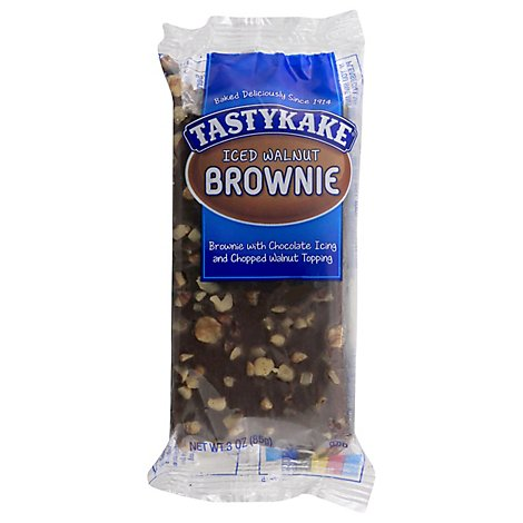 Tastykake Brownie Iced Single Serve - 3 Oz
