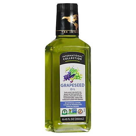 International Collection Grapeseed Oil - 8.45 Fl. Oz.