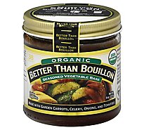 Better than Bouillon Base Organic Vegetable - 8 Oz