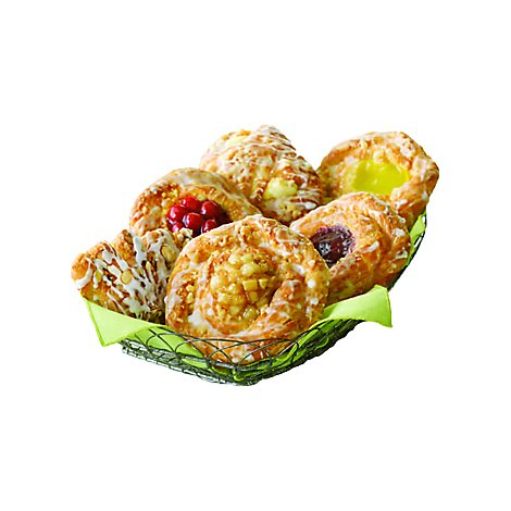 Bakery Danish Assorted Snail 6 Count - Each