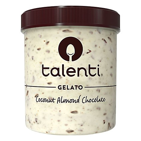 Talenti Gelato Coconut Almond Chocolate - 1 Pint