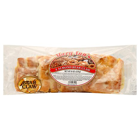 Fresh Baked Almond Bear Claw 6 Count - Each