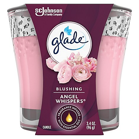 Glade Jar Candle Air Freshener Angel Whispers 3.4 oz
