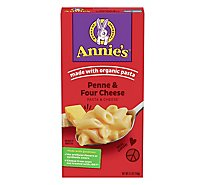 Annies Homegrown Macaroni & Cheese Four Cheese Box - 5.5 Oz