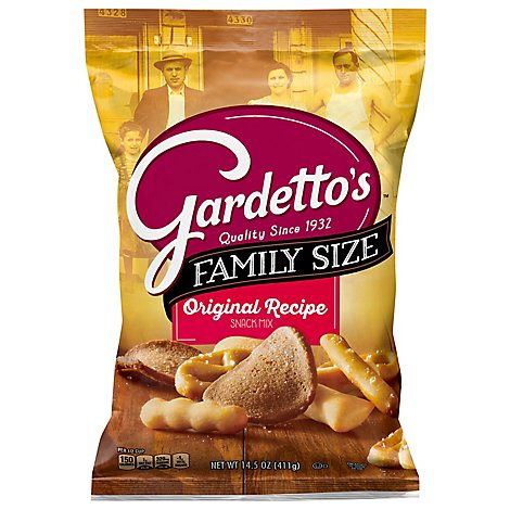 Gardettos Snack Mix Original Recipe - 14.5 Oz