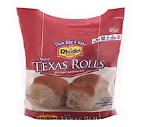 Rhodes White Texas Rolls - 48 Oz