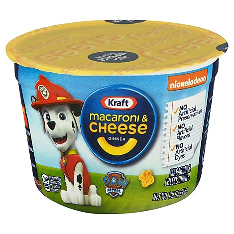 Kraft Macaroni & Cheese Dinner Monster Universiry Cup - 1.9 Oz