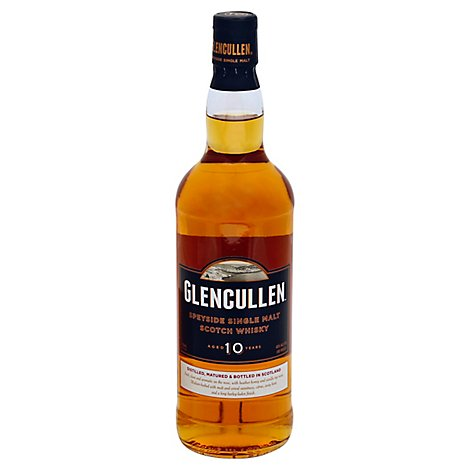 Glencullen Scotch 10 Year Whsky 80 Proof - 750 Ml