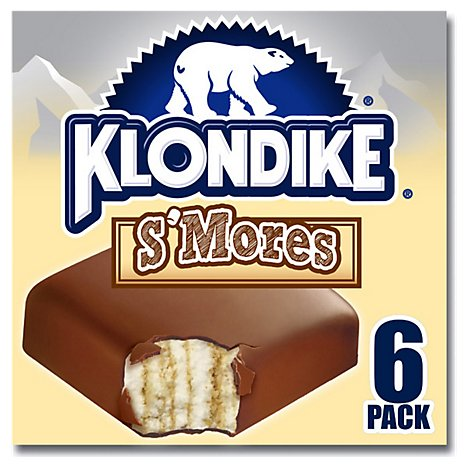Klondike Ice Cream Bars Smores - 6-4 Fl. Oz.