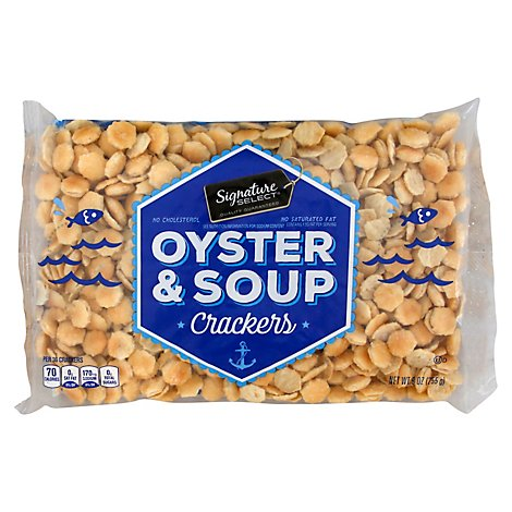 Signature SELECT/Kitchens Crackers Oyster & Soup - 9 Oz
