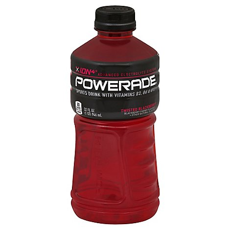 POWERADE Sports Drink Electrolyte Enhanced Twisted Blackberry - 32 Fl. Oz.