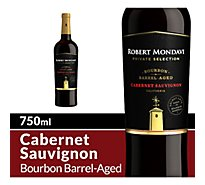 Robert Mondavi Private Selection Wine Red Bourbon Barrel Aged Cabernet Sauvignon - 750 Ml